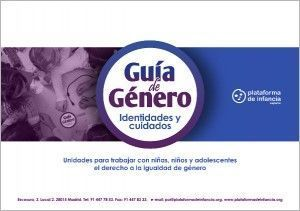 Guía de Género: identidades y cuidados, portada