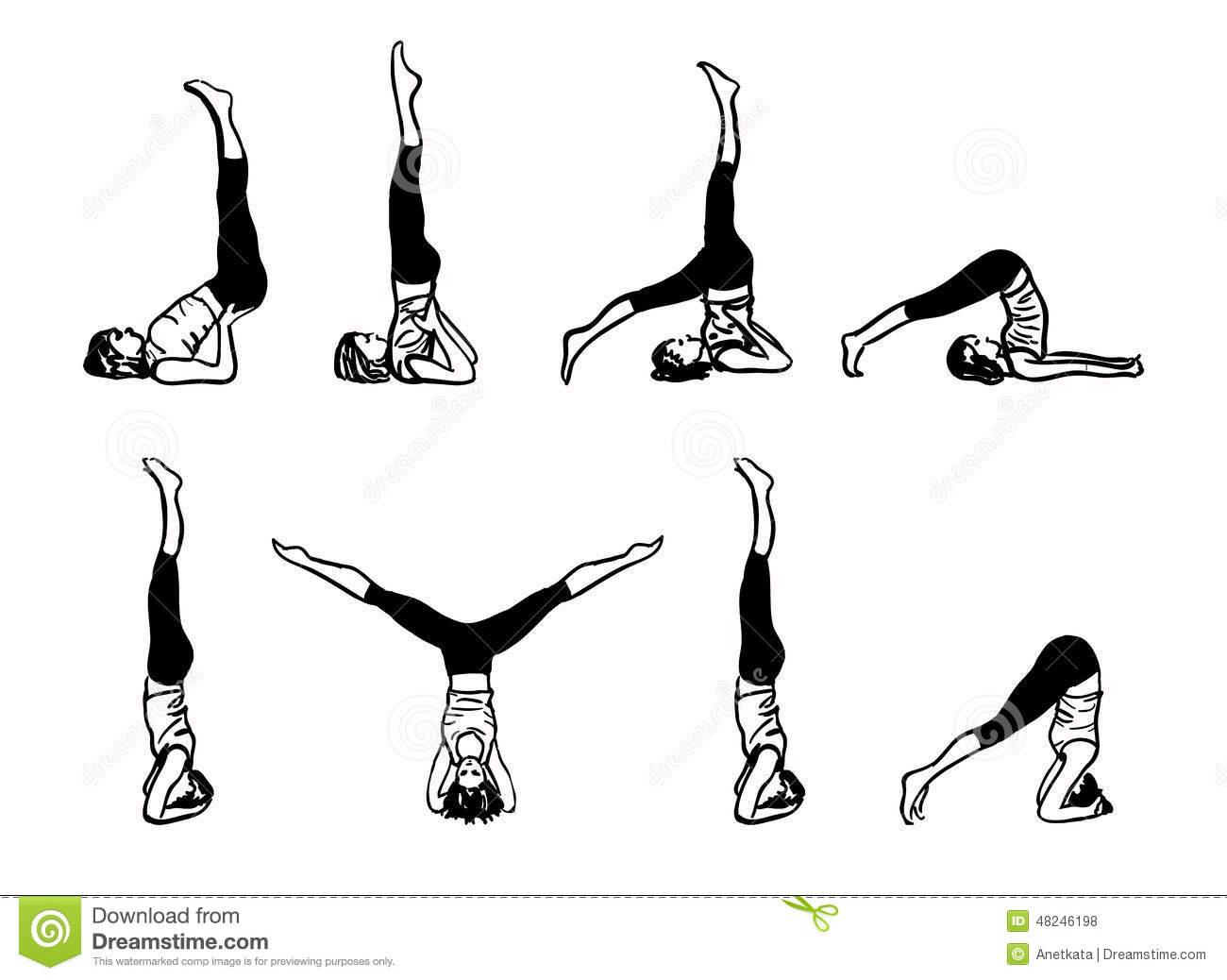 complejo-de-las-posturas-invertidas-de-la-yoga-48246198