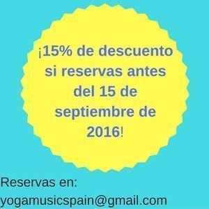 Reservas en yogamusic