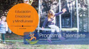 Programa de educación emocional en las aulas Talentarte