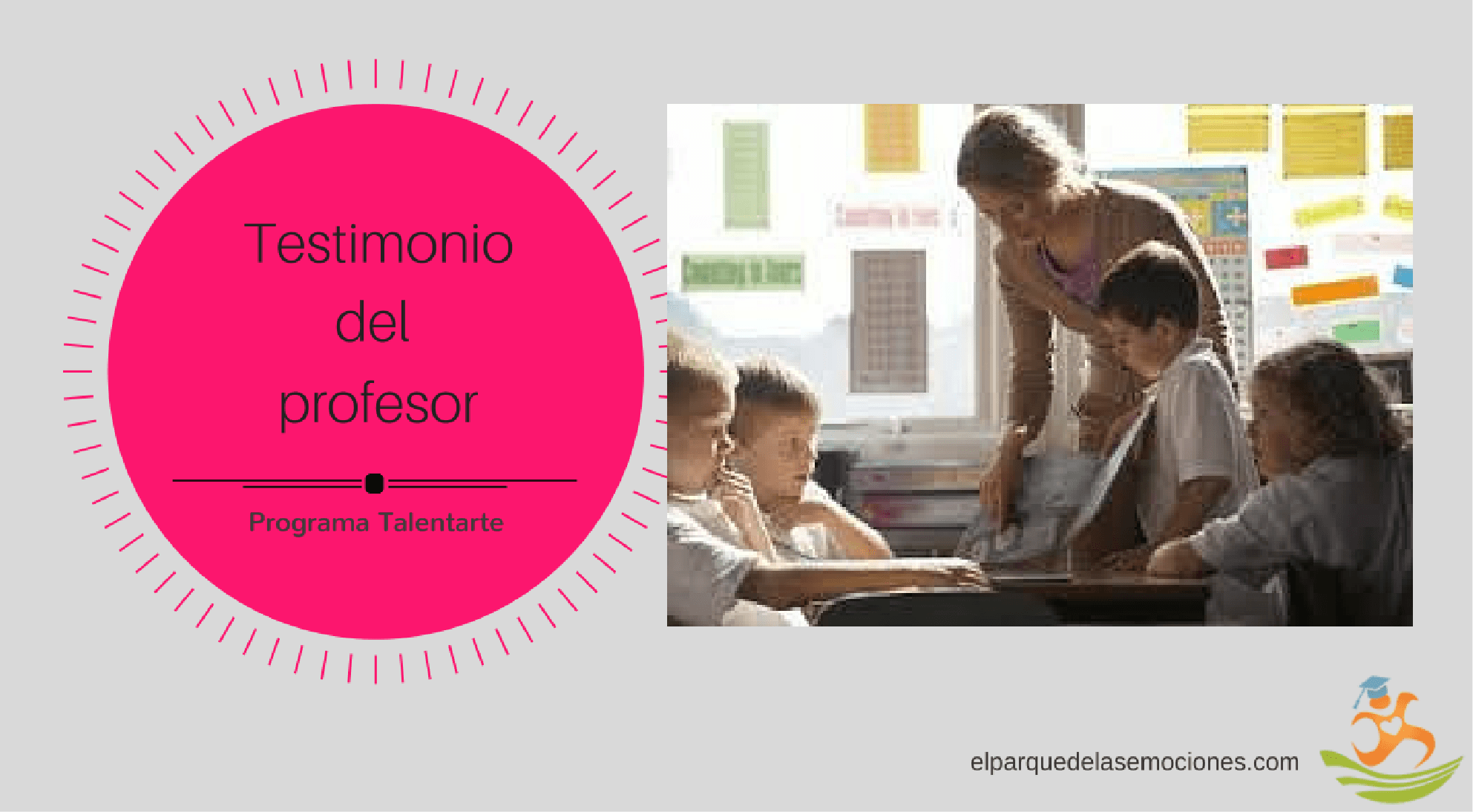 el profesor opina sobre su experiencia con el programa Talentarte