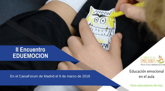 Encuentro Eduemoción en Madrid