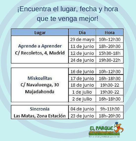 calendario relajación