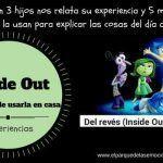 Del Reves (Inside Out): 5 maneras de usarla con niños – Material