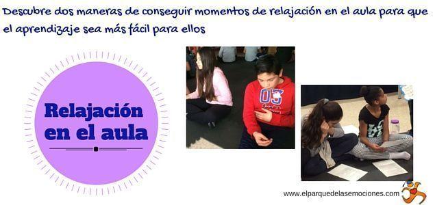 Relajación para niños en el aula
