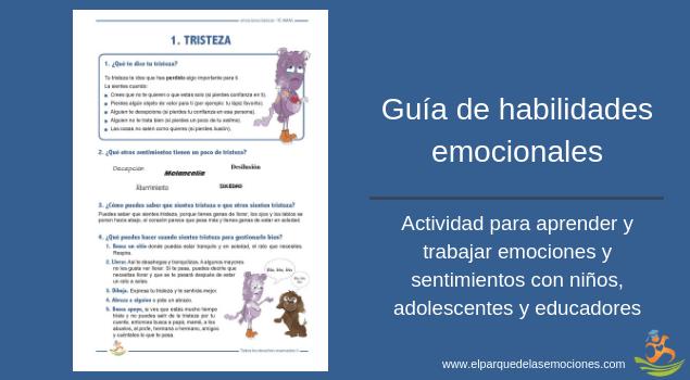 Guía de habilidades emocionales